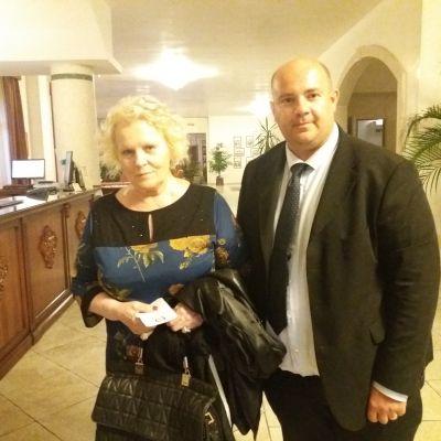 Insieme a Katia Ricciarelli