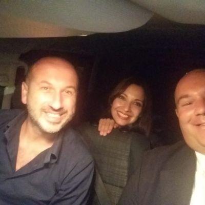 Insieme a Nicola Calia e Antonella Carone - Cabarettisti TV