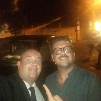Insieme a Vincenzo Albano - Cabarettista TV